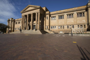 Mitchell Library without banners